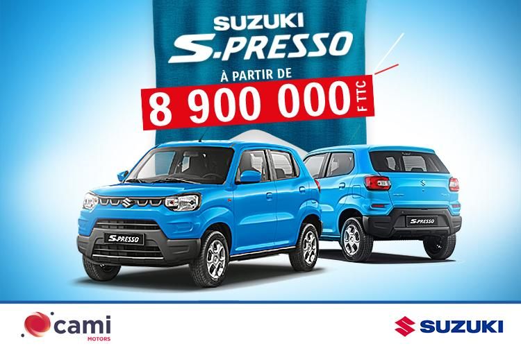 Campagne S-PRESSO CAM